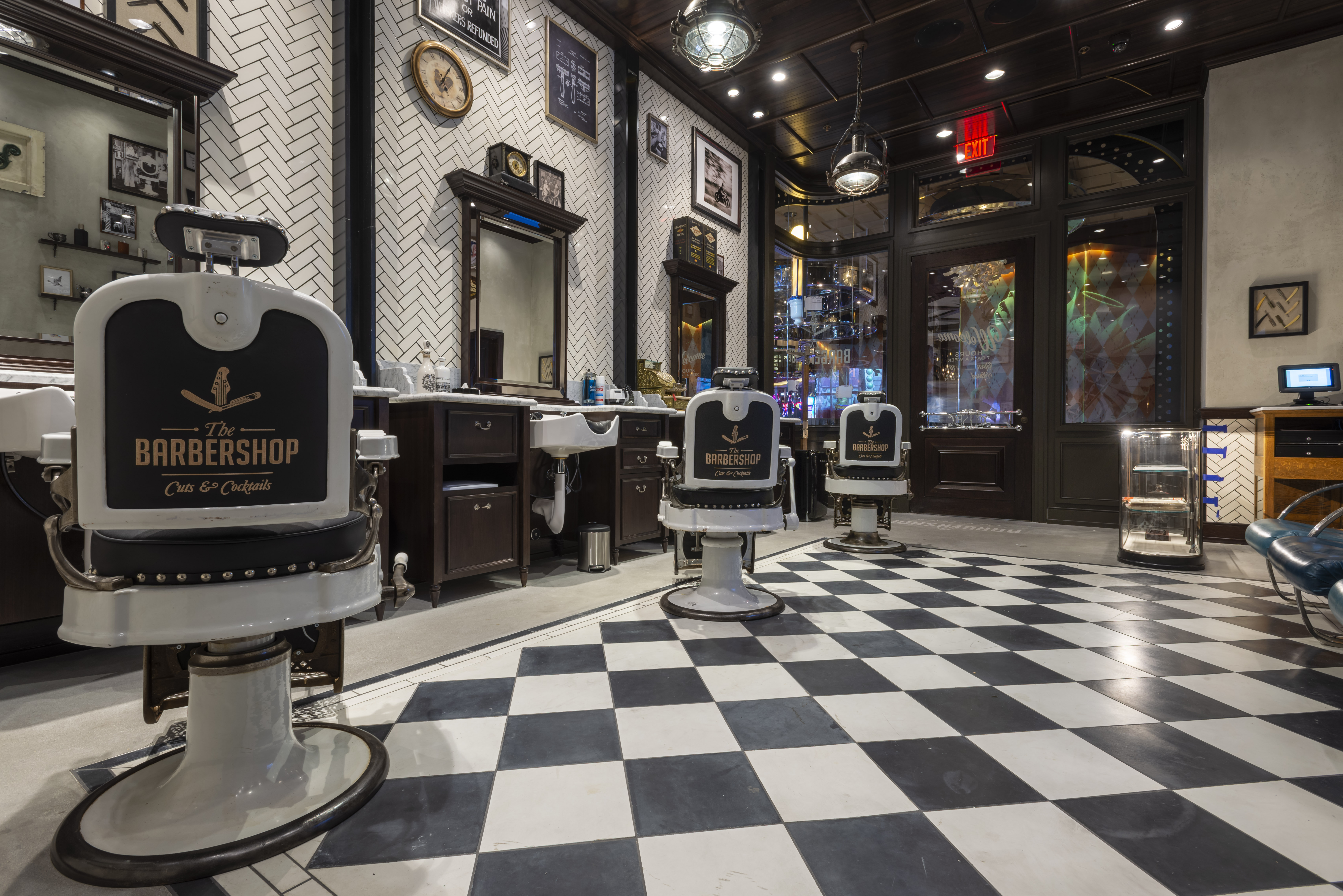 Barbershop Cuts and Cocktails