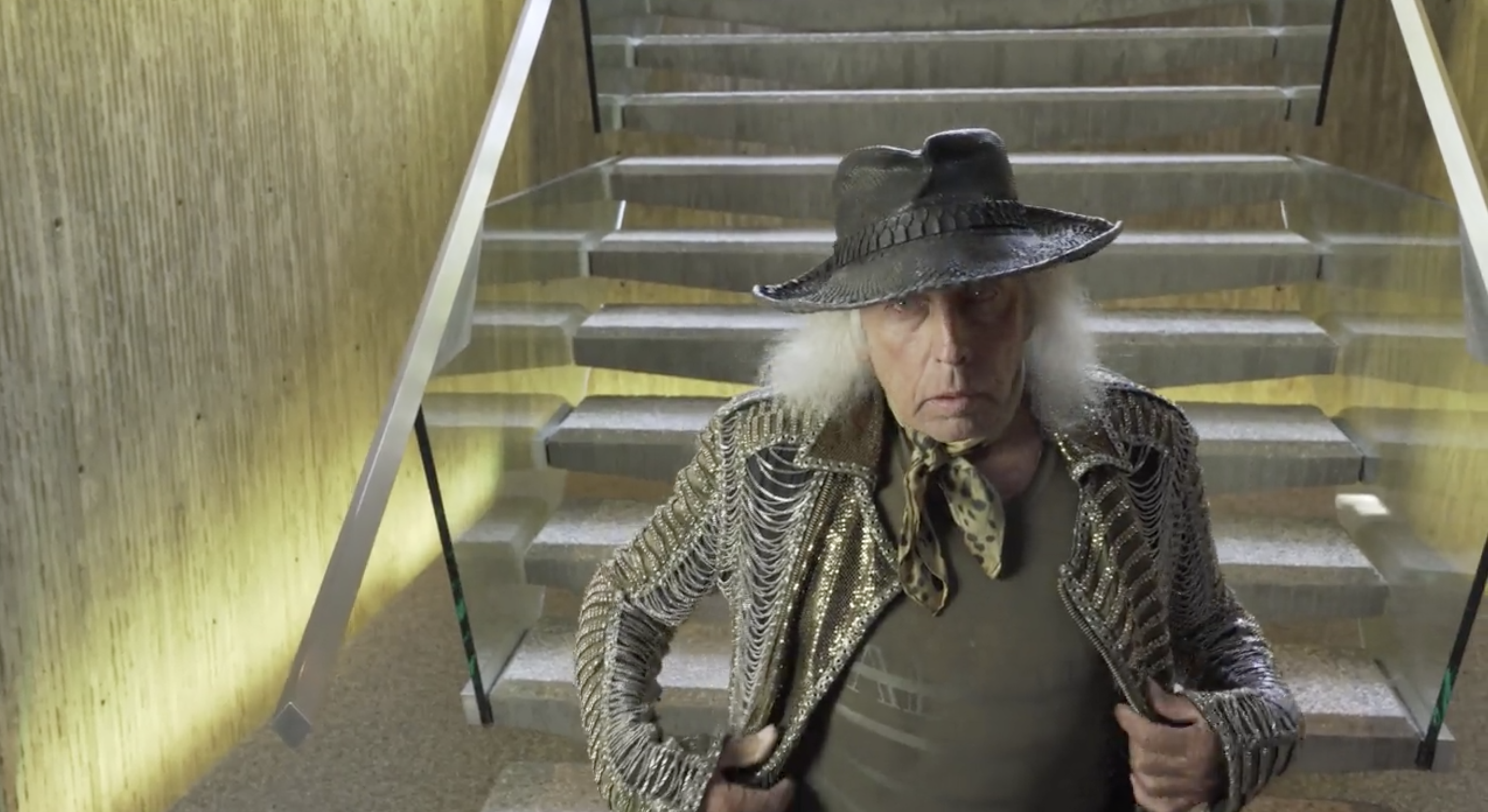 Legendary James Goldstein Gives A Tour Of His Nightclub And Home